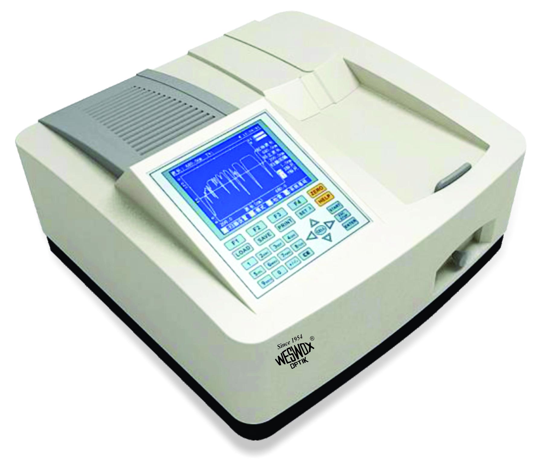 Microprocessor Uv/vis Double Beam Spectrometer