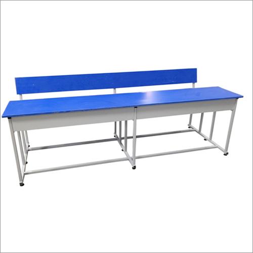 4 Seater School Desk Cum Bench