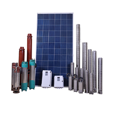 AC  Solar Submersible Water Pump