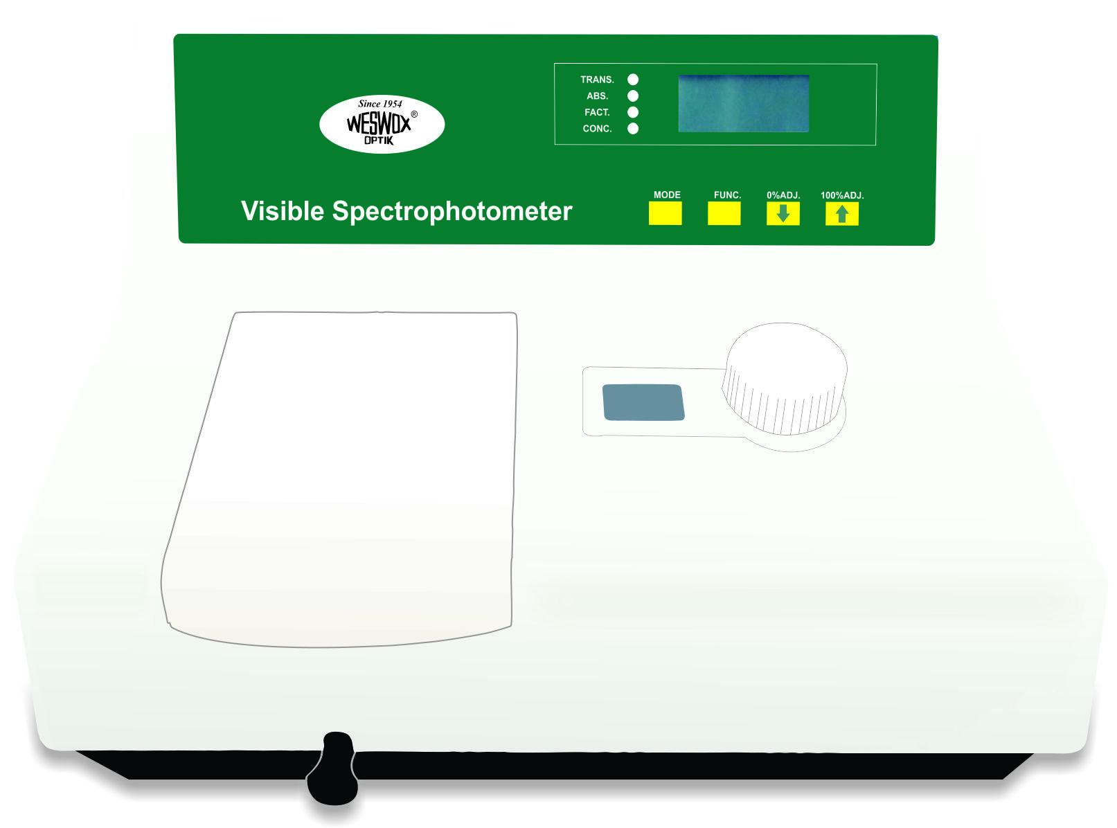 VISIBLE SPECTROPHOTOETER