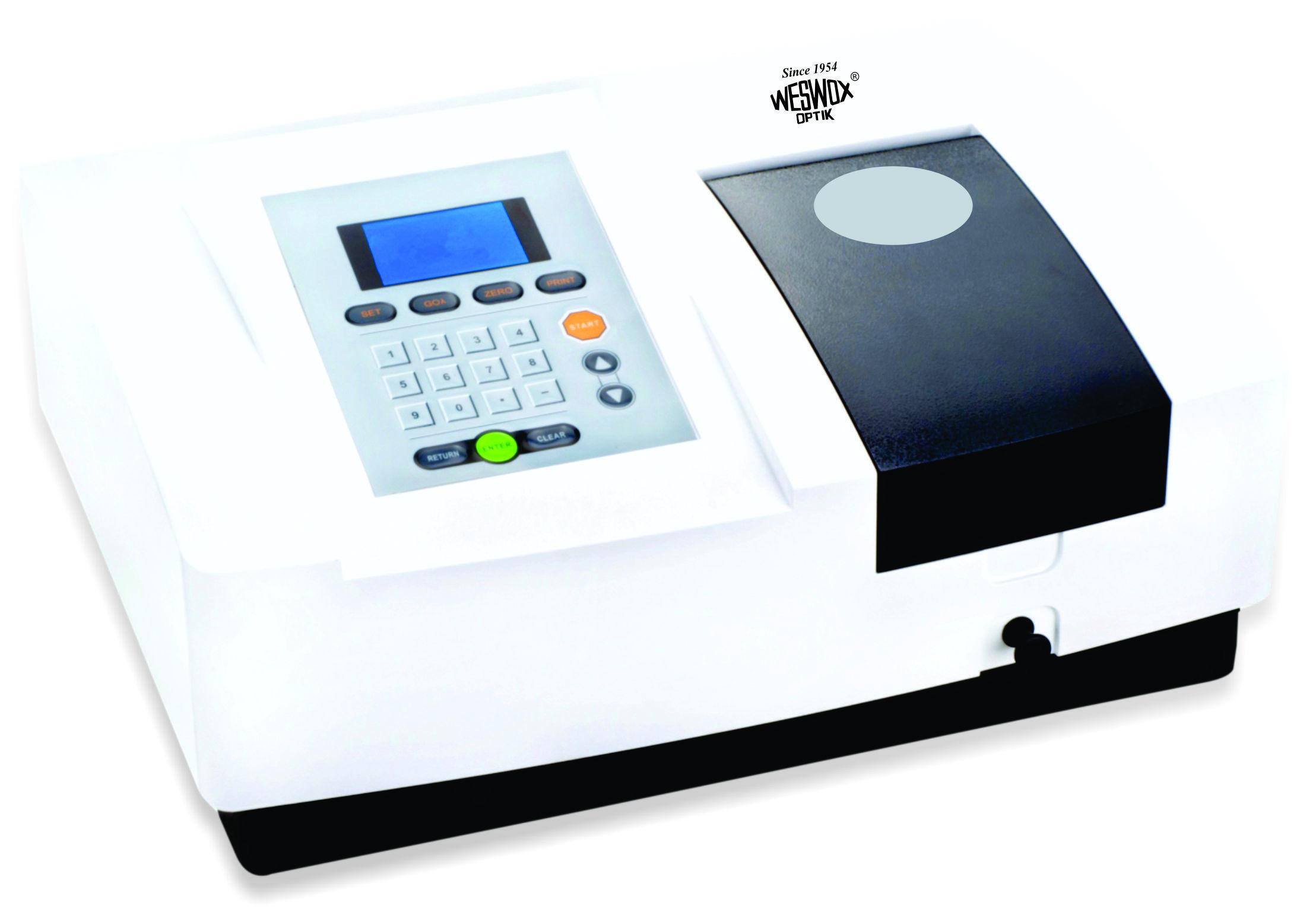 Microprocessor UV-VIS Single Beam Spectrophotometer