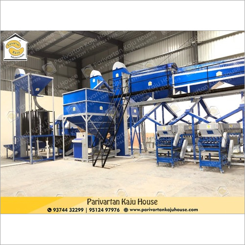 Fully Fully Automatic Cashew Processing Plant