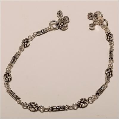 A0003-Sterling Silver Plain Anklet
