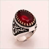 Natural Carnelian Gemstone 925 Sterling Silver Turkish Ring