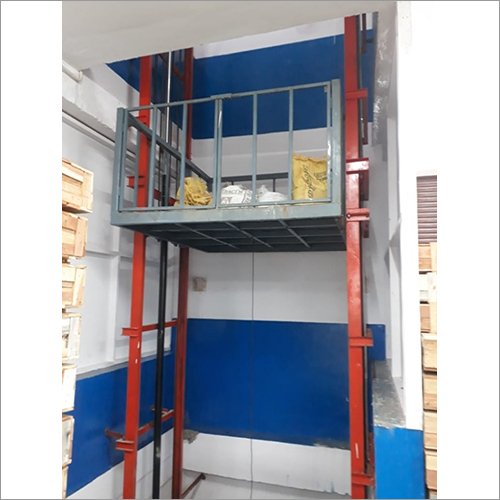 MS Double Mast Hydraulic Goods Lift