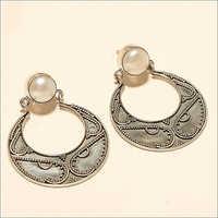 Natural Italian Fresh Water Pearl Earrings