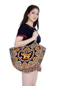 Womens/Girls Embroidery Rajasthani Traditional handbag