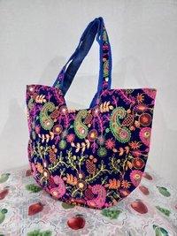 Jaipur Design Colorful Floral Embroidered Women Bag