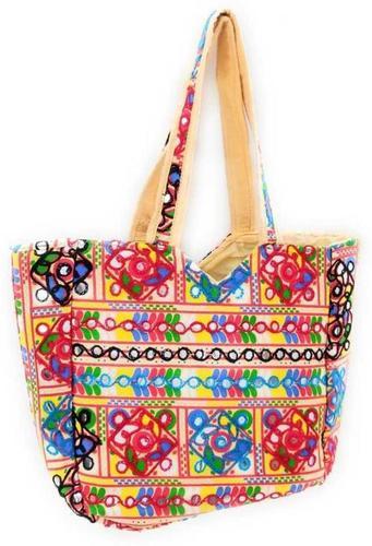 Rajasthani Women Multicolor Shoulder Bag