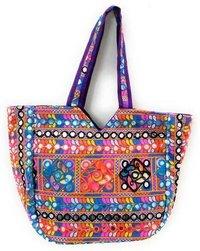 Women Multicolor Rajasthani Shoulder Bag