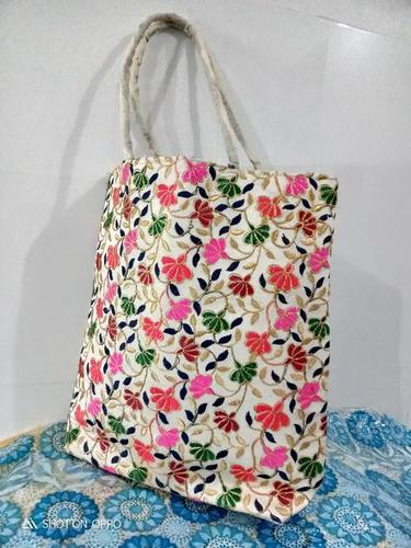 Rajasthani Bag Colorful Floral Embroidered Women's Bag