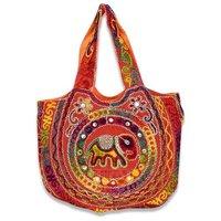 Women Rajasthani Embroidered Work Shoulder Bag