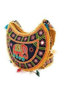 Designer Antique Rajasthani Hold Hand Bag For Women's.