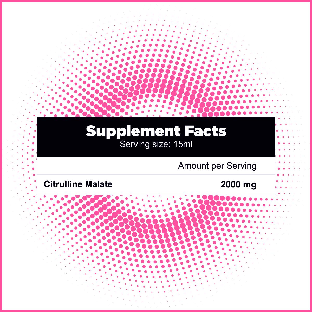 Citrulline Malate Liquid