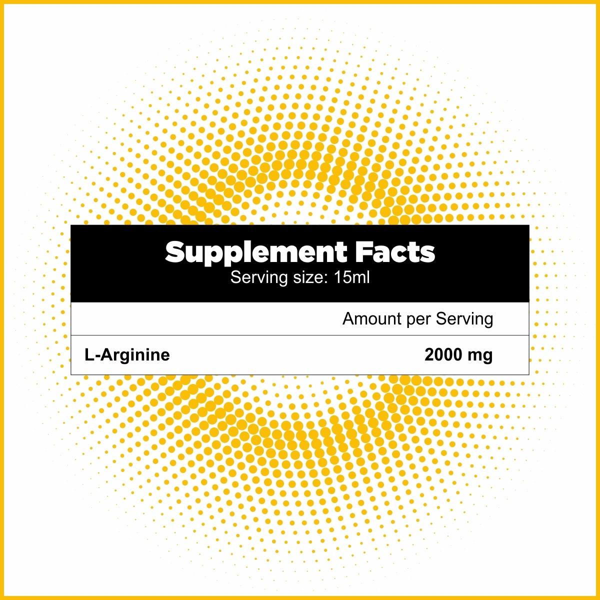 L-Arginine Liquid