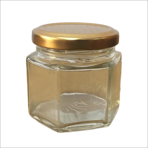 100 ML Hexa Glass Jar