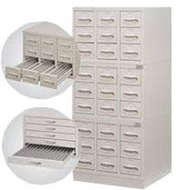 Slide Storage Cabinet Vertical