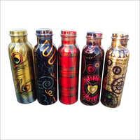 Designer Copper Printed Bottle