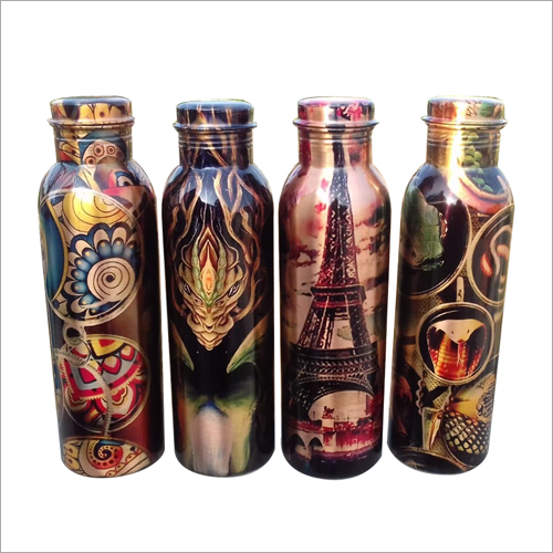 Copper Printed Bottle