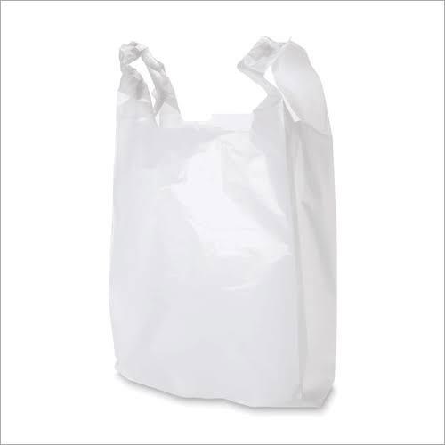 Plain White Starch Compostable Bag