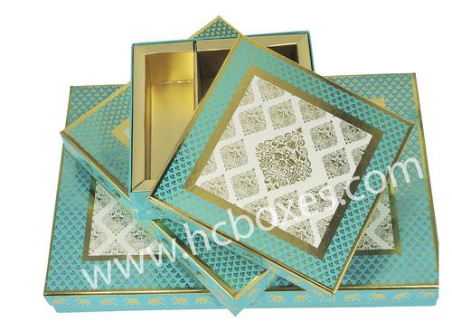 Motif Covered Sweet Box