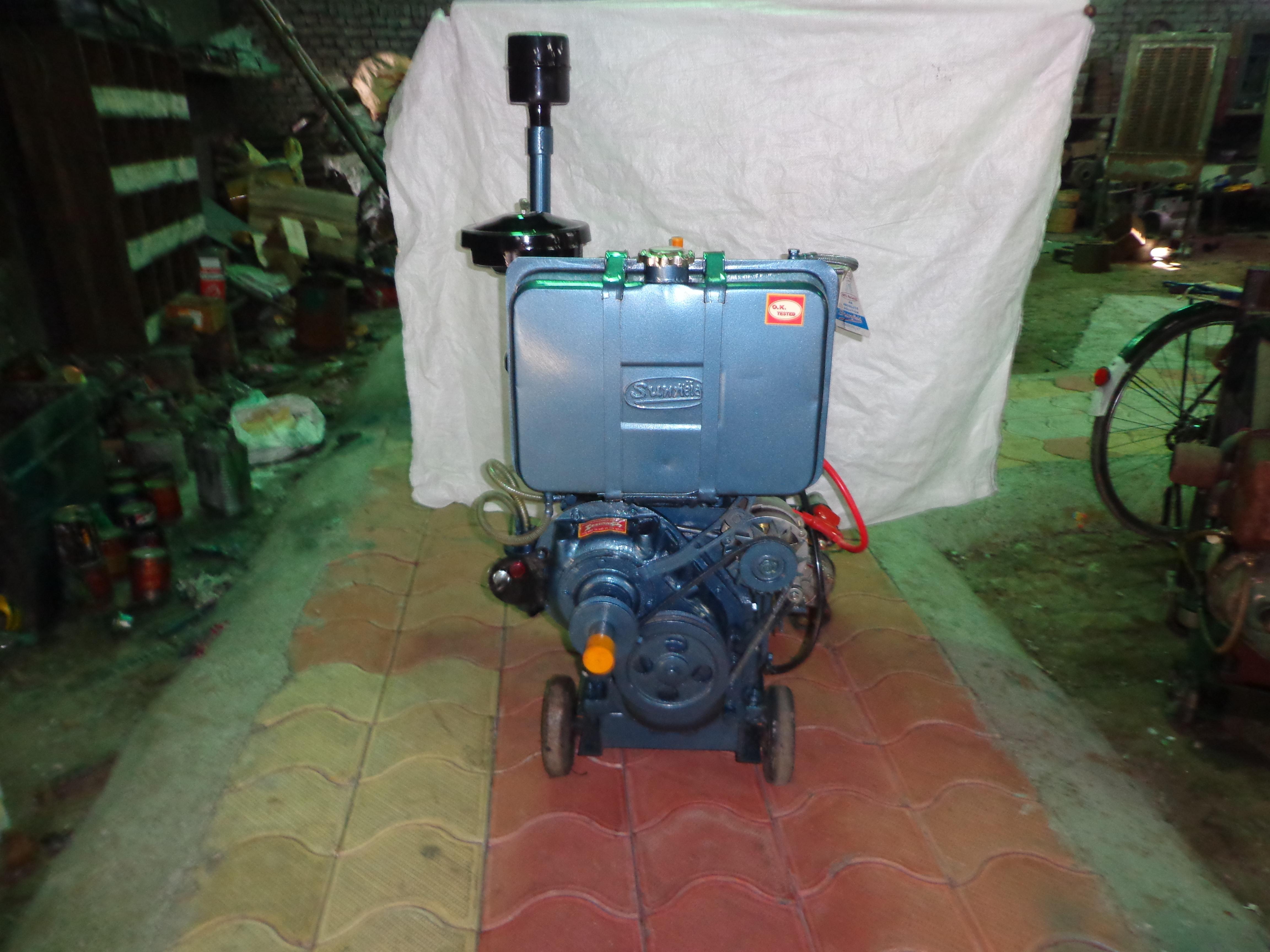 Water Cooled 28 H.P.  Diesel Engine