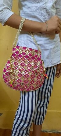 Embroidered New Design Potli Bag
