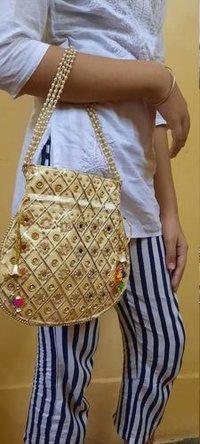 Indian Handmade Embroidered Potli Bag