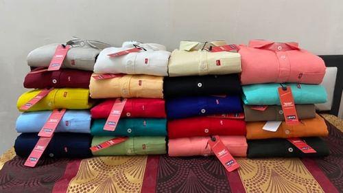 Premium quality men's plain Shirts