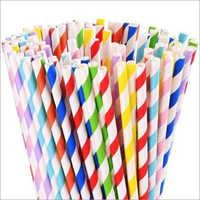 Multicolor Paper Straw