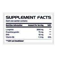 L-arginine DHA Vitamin B6 Sachet