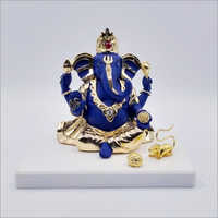 Silver Plated Figurine