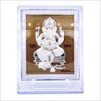 Ganesha Acrylic Silver Stand