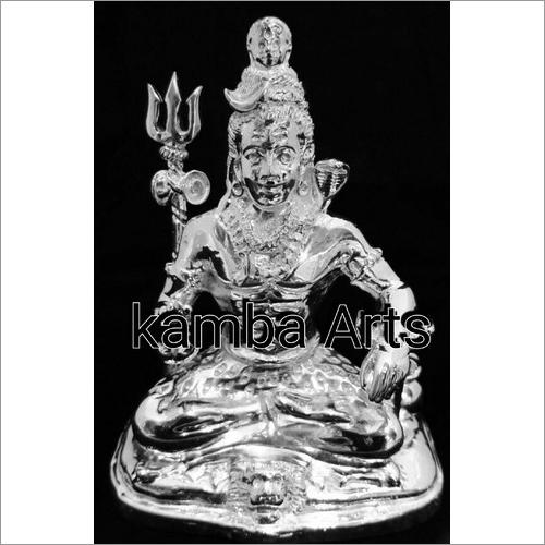 Silver Shiva Idol