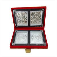 Silver Velvet Box
