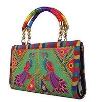 Handmade Designer Embroidered Rajasthani Clutch Bag