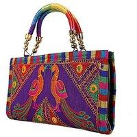 Handmade Designer Embroidered Handbag