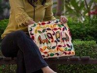 Elephant Embroidery Rajasthani Embroidery Bag