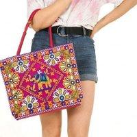 Traditional Ethnic Jaipuri Embroidered Handbag