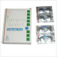 0.5gm Cabergoline Tablets
