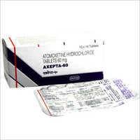 60mg Atomoxetine Hydrochloride Tablet