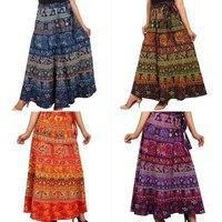 Designer Wrap Around Skirt
