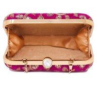 Handcrafted Embroidered Clutch Bag Purse Handbag