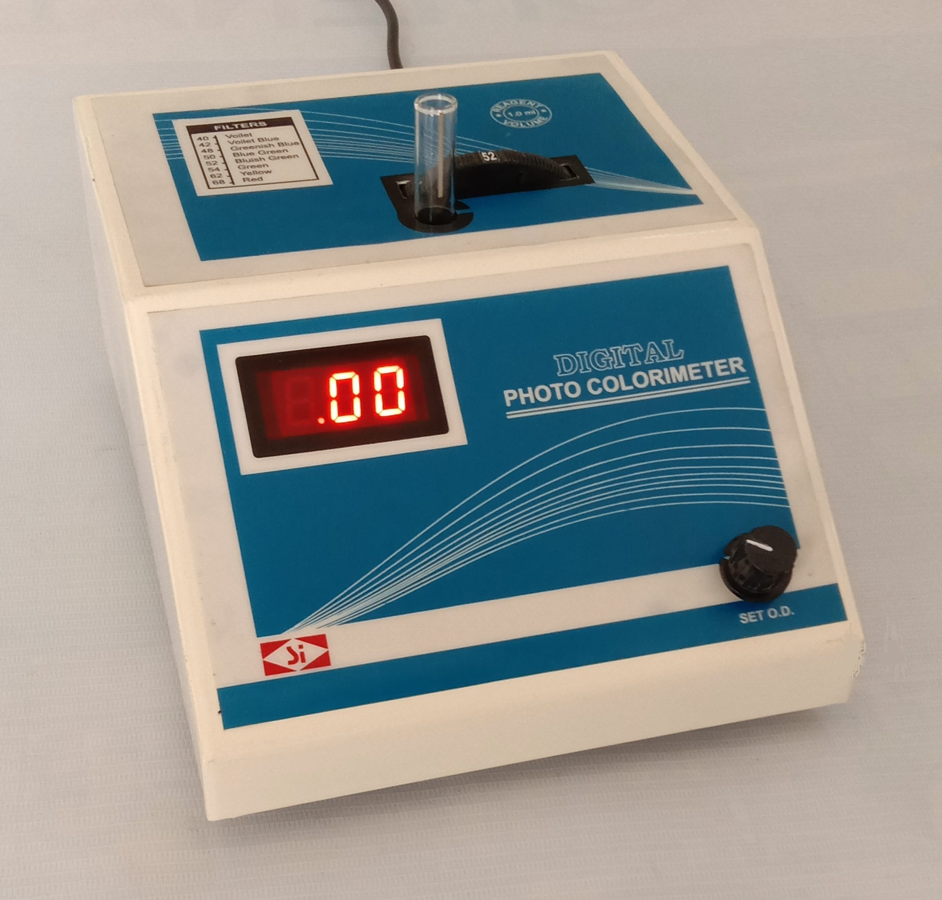 Microprocessor Colorimeter