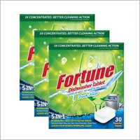 Fortune 5 In 1 Dishwasher Tablets