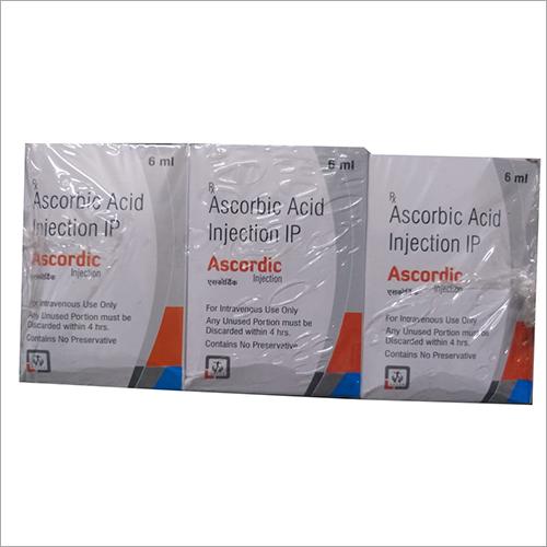 Ascordic acid injection