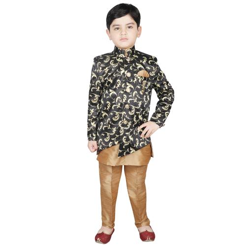 Printed Sherwani with Pant