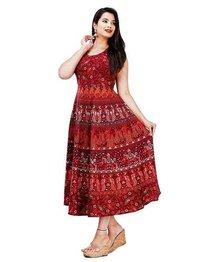 Printed Cotton Frock Kurti Dress