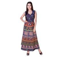 Beautiful Indian Vintage Handmade Long Dress