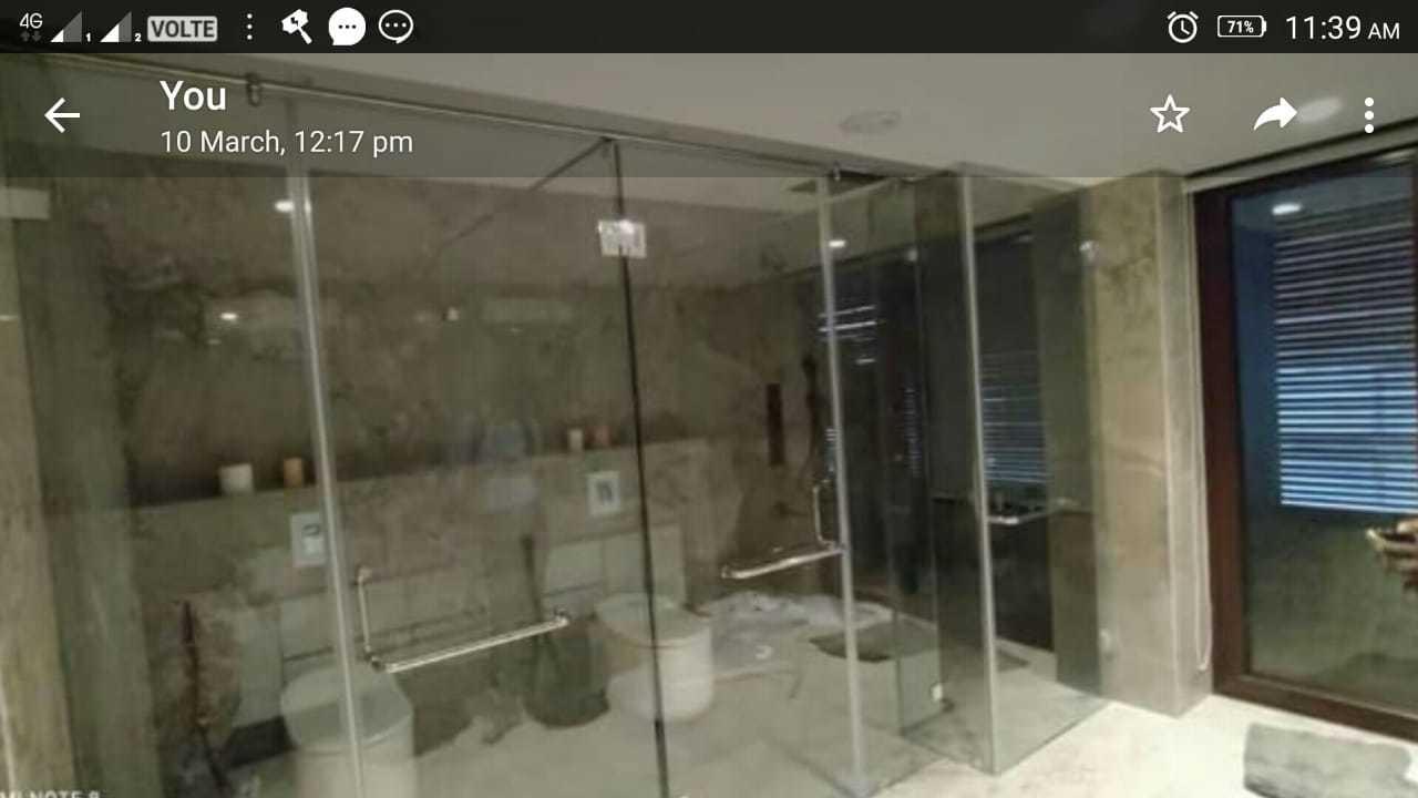 Fancy Shower Glass Enclosure